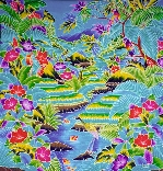BATIK is hugely saleable; get it in                       lucious colors, do import export with INDONESIA                       where it is made
