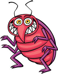 bedbug                             invasion, picture of a bedbug, THEY CAME                             FROM GODZILLA LAND, ASIA