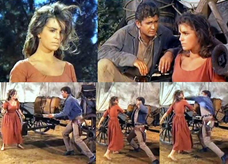 Anita Sands                       Hernandez in her acting days on Bonanza