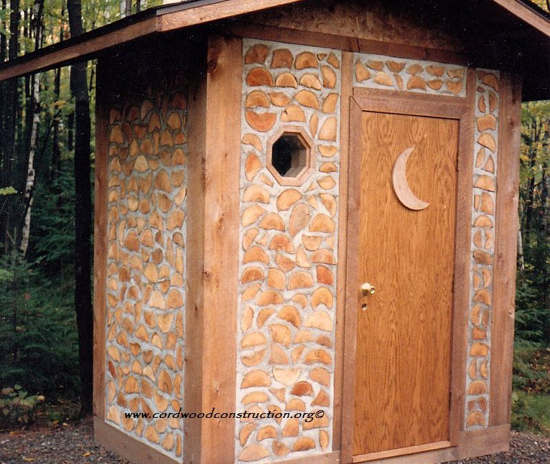 CORD HOUSE economical, easy to build walls                       with it and CAN BE INSULATED with another wall on                       the inside