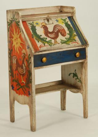 a                   PETER HUNT desk or secretary, an original by HIM.